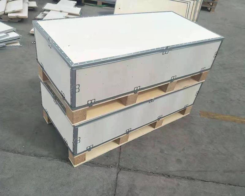 镀锌钢带包装箱